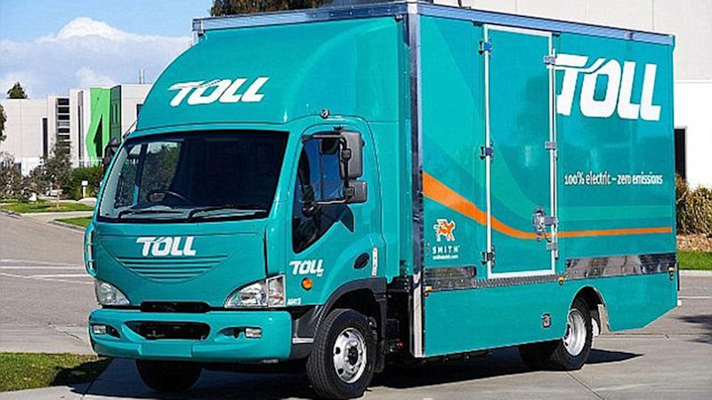 He quit his job as a truck driver for Toll and began his life of luxury. Source: Toll