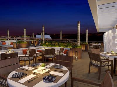 Combined with the River Café, the Aquavit Terrace will provide the most al fresco dining options on the Mississippi. This casual dining space is ideal for an American barbeque experience. For more information, visit www.viking.com.