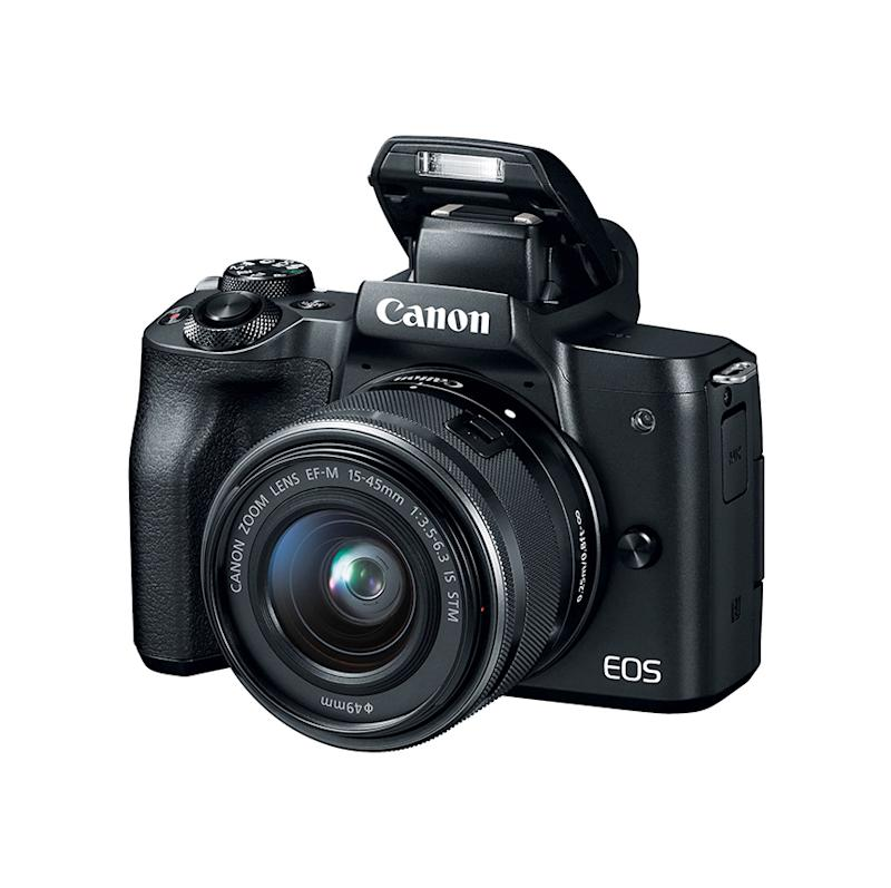 Canon EOS M50 Mirrorless Camera with 4K Video and Lens Kit. (Photo: Walmart)