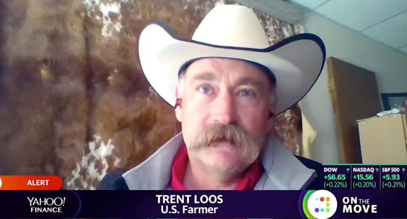 Trent Loos speaks with Yahoo Finance. (Source: Photo/Yahoo Finance)