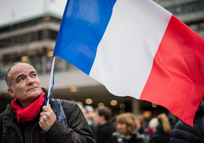 The French capital will host the UN climate conference later this month (AFP Photo/Jonathan Nackstrand)