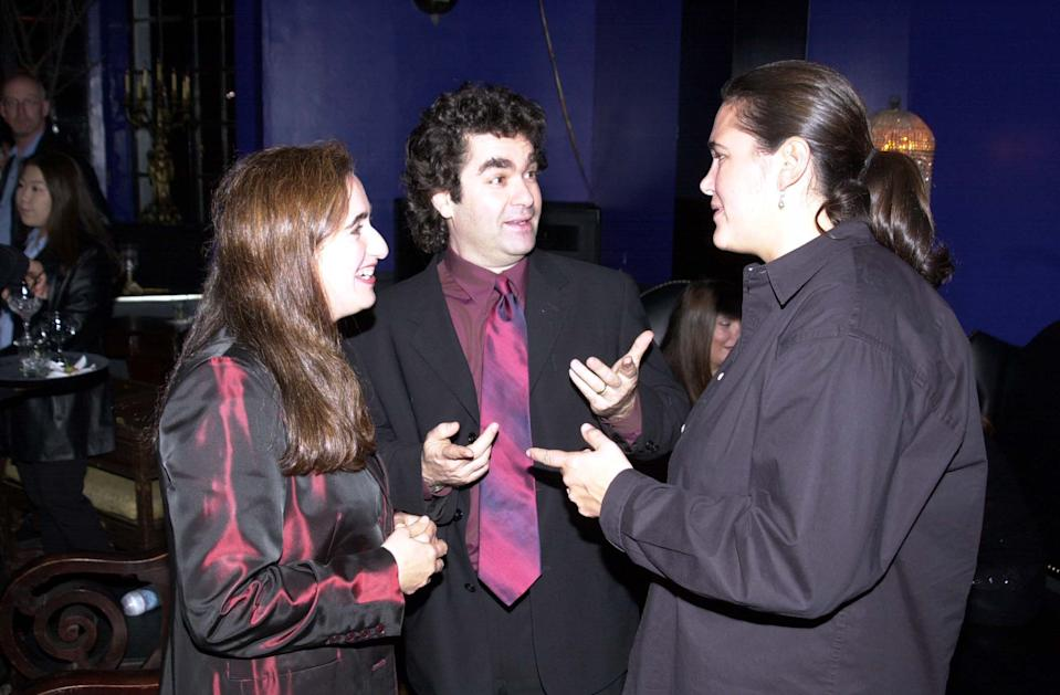 Joe Berlinger, director (center) during Book of Shadows Blair Witch 2 Premiere in Hollywood, California, United States. (Photo by Jeff Kravitz/FilmMagic, Inc)