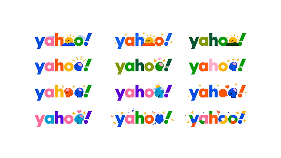 Yahoo's Mental Health Logo Swap by Lucas Wakamatsu.