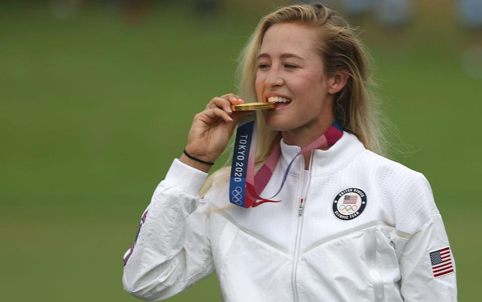 Nelly Korda - GETTY IMAGES