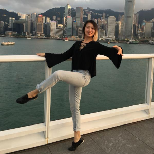 Joie Goh, barre instructor and communications manager at WeBarre.