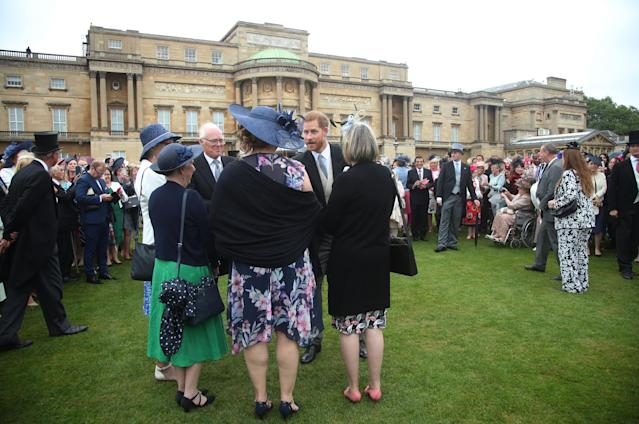 Thousands of guests attend garden parties at the palace each year. (Getty Images)