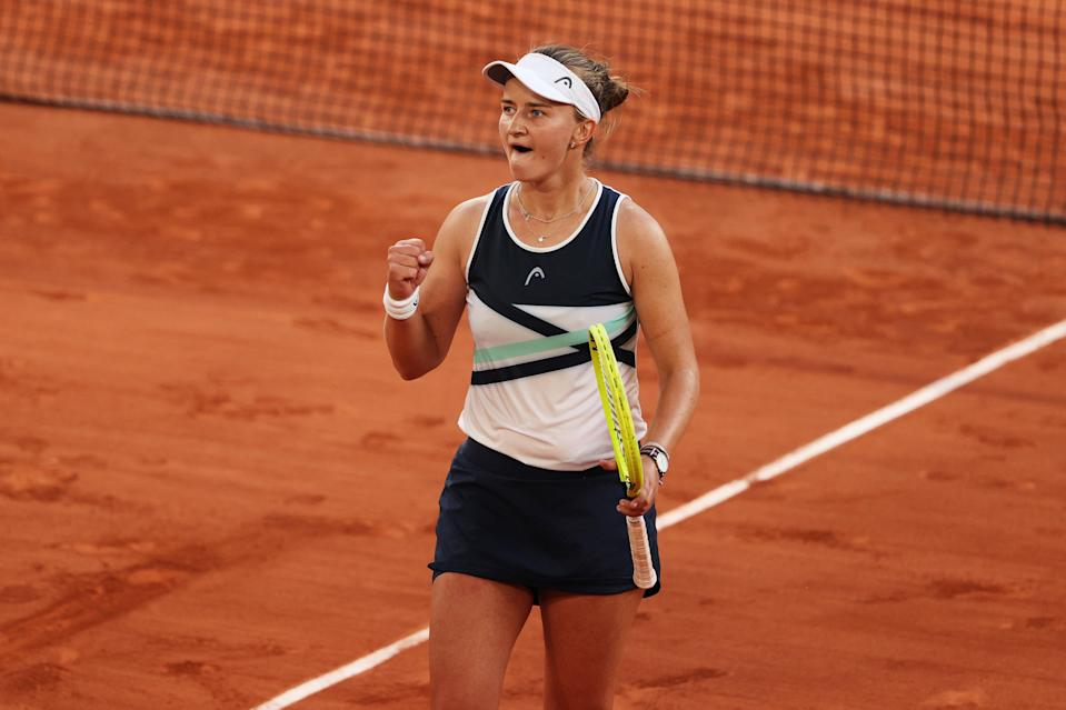 Krejcikova has reached her first Grand Slam final (Getty Images)