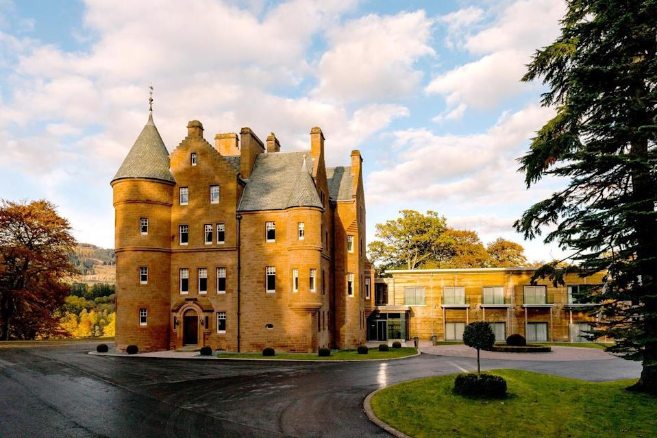 """<p>Is there anything more romantic than staying in a castle overlooking a loch in Scotland? And it's certainly not something you do every day. <a href=""""https://go.redirectingat.com?id=127X1599956&url=https%3A%2F%2Fwww.booking.com%2Fhotel%2Fgb%2Ffonab-castle.en-gb.html%3Faid%3D1922306%26label%3Dunusual-hotels-uk&sref=https%3A%2F%2Fwww.goodhousekeeping.com%2Fuk%2Flifestyle%2Ftravel%2Fg34667984%2Fquirky-unusual-hotels-uk%2F"""" rel=""""nofollow noopener"""" target=""""_blank"""" data-ylk=""""slk:Fonab Castle Hotel"""" class=""""link rapid-noclick-resp"""">Fonab Castle Hotel</a> draws inspiration from its historic past and breathtaking surroundings, overlooking Loch Faskally and the impressive Ben Vrackie. </p><p>Each of the rooms and suites, including the magnificent Penthouse, are individually designed to ensure a seamless quality to the blend of modern furnishings and original castle features. There's the 3 AA Rosette awarded Sandeman's Restaurant for fine dining and a brasserie for a more relaxed affair. There's also a spa with a 15-metre swimming pool, Jacuzzi, sauna and four treatment rooms.</p><p><a class=""""link rapid-noclick-resp"""" href=""""https://go.redirectingat.com?id=127X1599956&url=https%3A%2F%2Fwww.booking.com%2Fhotel%2Fgb%2Ffonab-castle.en-gb.html%3Faid%3D1922306%26label%3Dunusual-hotels-uk&sref=https%3A%2F%2Fwww.goodhousekeeping.com%2Fuk%2Flifestyle%2Ftravel%2Fg34667984%2Fquirky-unusual-hotels-uk%2F"""" rel=""""nofollow noopener"""" target=""""_blank"""" data-ylk=""""slk:CHECK AVAILABILITY"""">CHECK AVAILABILITY</a></p>"""