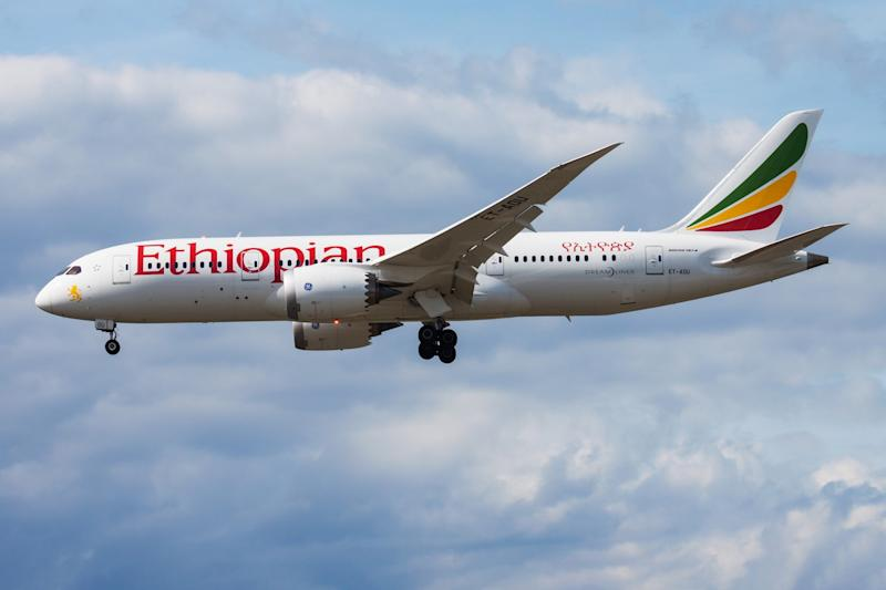An Ethiopian Airlines plane made an emergency landing when one its engines caught fire: Getty Images
