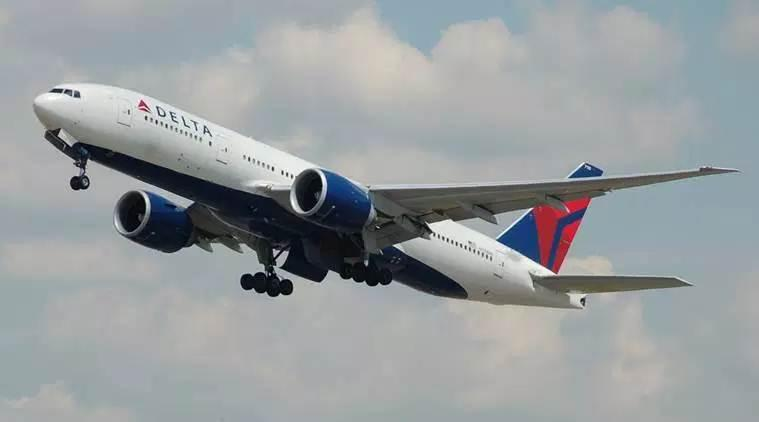 Delta Airlines, Delta flies a man alone, Trending, Indian Express, Indian Express news