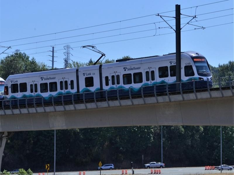 Link service will increase to trains running every 20 minutes, and more ST Express routes will return to full operation in Pierce County.