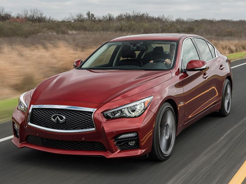 The 2017 Infiniti Q50 Red Sport 400 Is A Twin Turbo Open