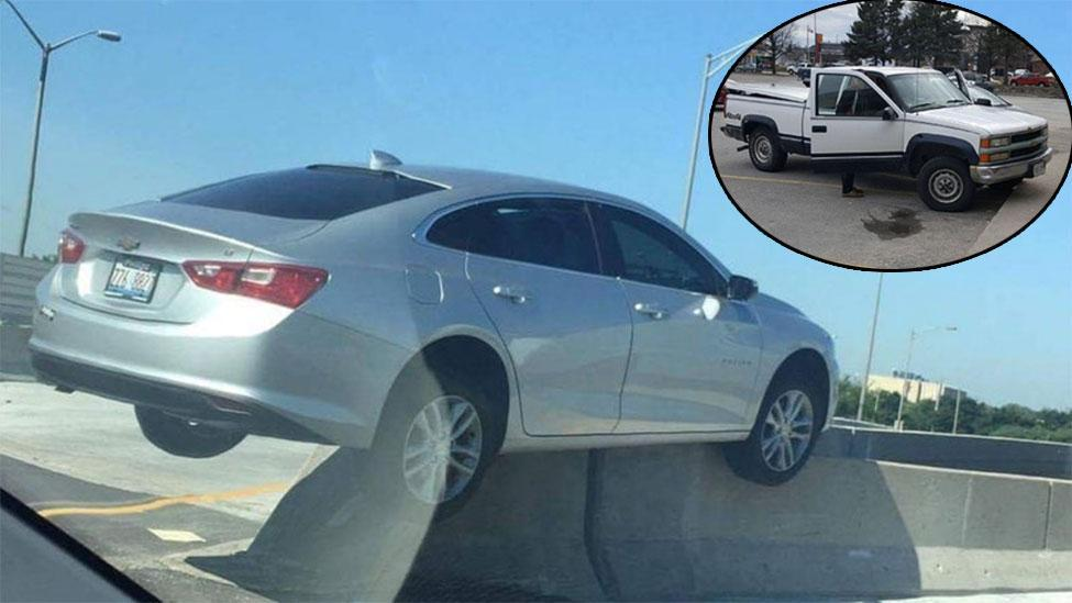 The most tragic parking fails