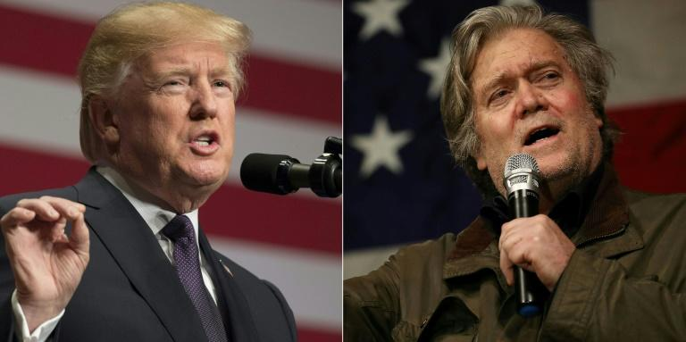 The gloves are off between US President Donald Trump and his former chief strategist Steve Bannon -- a brawl sparked by excerpts from a new book making shocking claims about the Trump White House