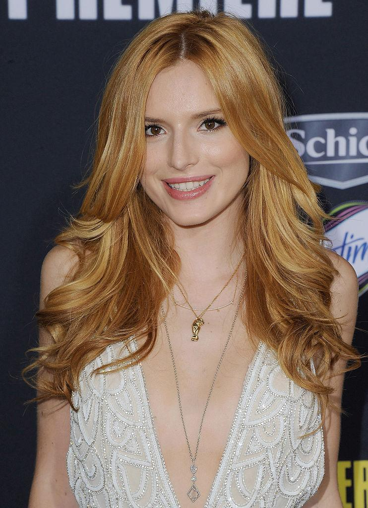 Bella Thorne Celebrity Hair Styles