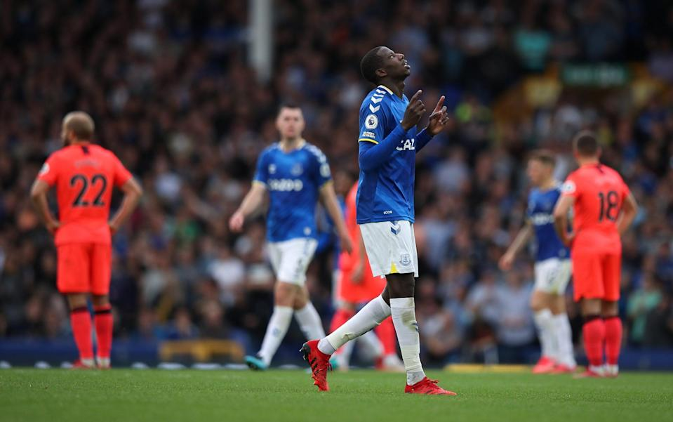 Abdoulaye Doucoure scored Everton's second goal - Getty Images