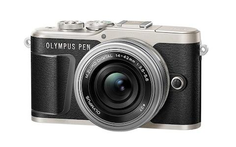 Olympus PEN E-PL9 16 MP Compact System Camera with Electric Zoom - Credit: Amazon