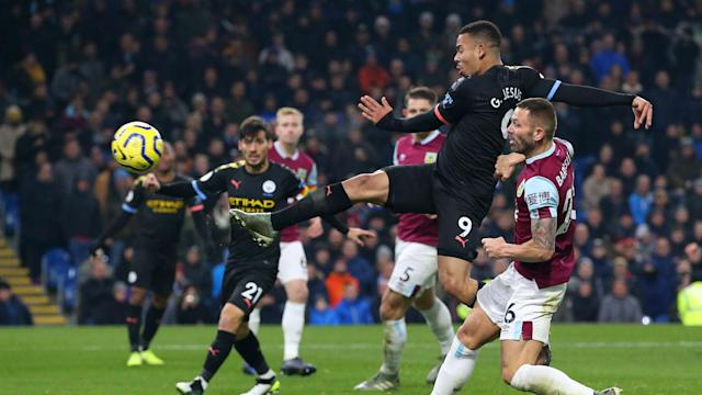 Gabriel Jesus ended a five-match wait for a Premier League goal with his brace against Burnley, and Pep Guardiola never doubted the forward.