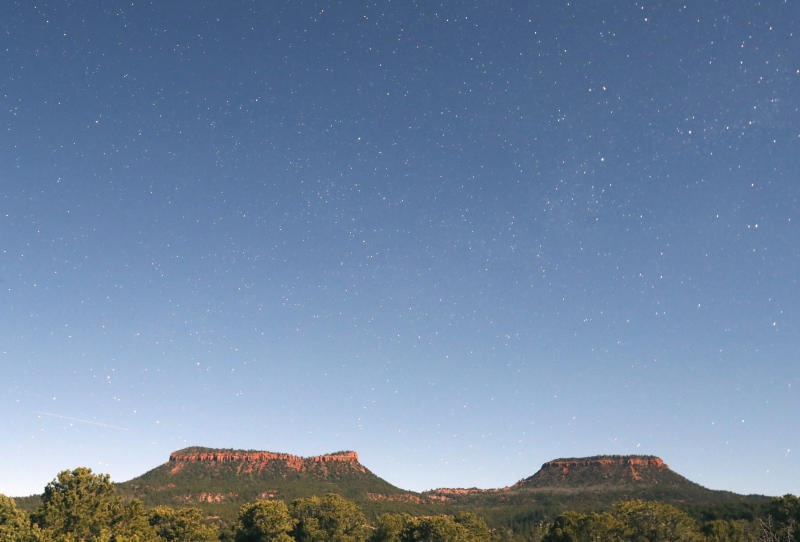 """Thetwo bluffs known as the """"Bears Ears"""" in the Bears Ears National Monument. (George Frey/Getty Images)"""