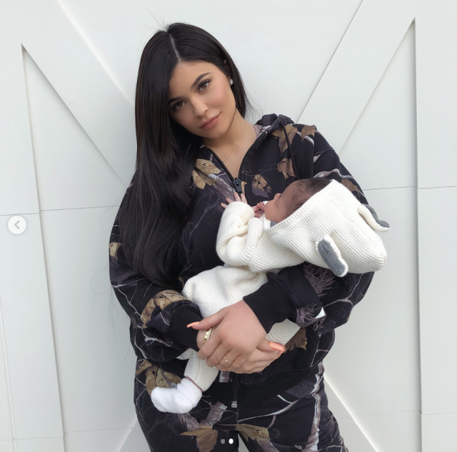 "<p>""My angel baby is 1 month old today,"" the beauty mogul captured this milestone with a snap of little Stormi bundled in her arms. The little girl's dad, Travis Scott, also made his own dedication to the newest love of his life. He posted a close-up pic of his daughter wearing a sweater that said ""DADDY"" in a red heart. (Photo: <a href=""https://www.instagram.com/p/BfzEfy-lK1N/?taken-by=kyliejenner"" rel=""nofollow noopener"" target=""_blank"" data-ylk=""slk:Kylie Jenner via Instagram"" class=""link rapid-noclick-resp"">Kylie Jenner via Instagram</a>) </p>"