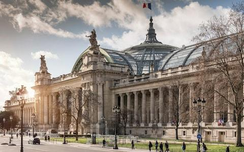 grand palais, paris - Credit: Getty