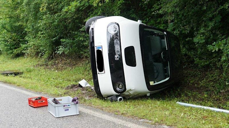 Honda E Crashes And Flips Days After Sales Start In Austria