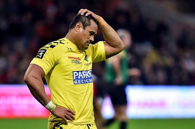 Rugby World Cup winner Isaia Toeava, who scored eight tries in 36 All Blacks appearances, tells AFP he will leave French Top 14 club Clermont at the end of the season (AFP Photo/REMY GABALDA)