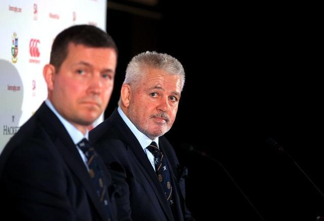 British and Irish Lions managing director Ben Calveley (left) feels the schedule will help player recovery