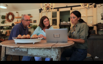 """<p>Before plans are set, homeowners meet with Chip and Joanna's <a href=""""https://www.rachelteodoro.com/2016/02/exclusive-interview-with-fixer-upper.html"""" rel=""""nofollow noopener"""" target=""""_blank"""" data-ylk=""""slk:design team"""" class=""""link rapid-noclick-resp"""">design team</a>. If you want any input or to share budget constraints, this is the time to bring it up.</p>"""