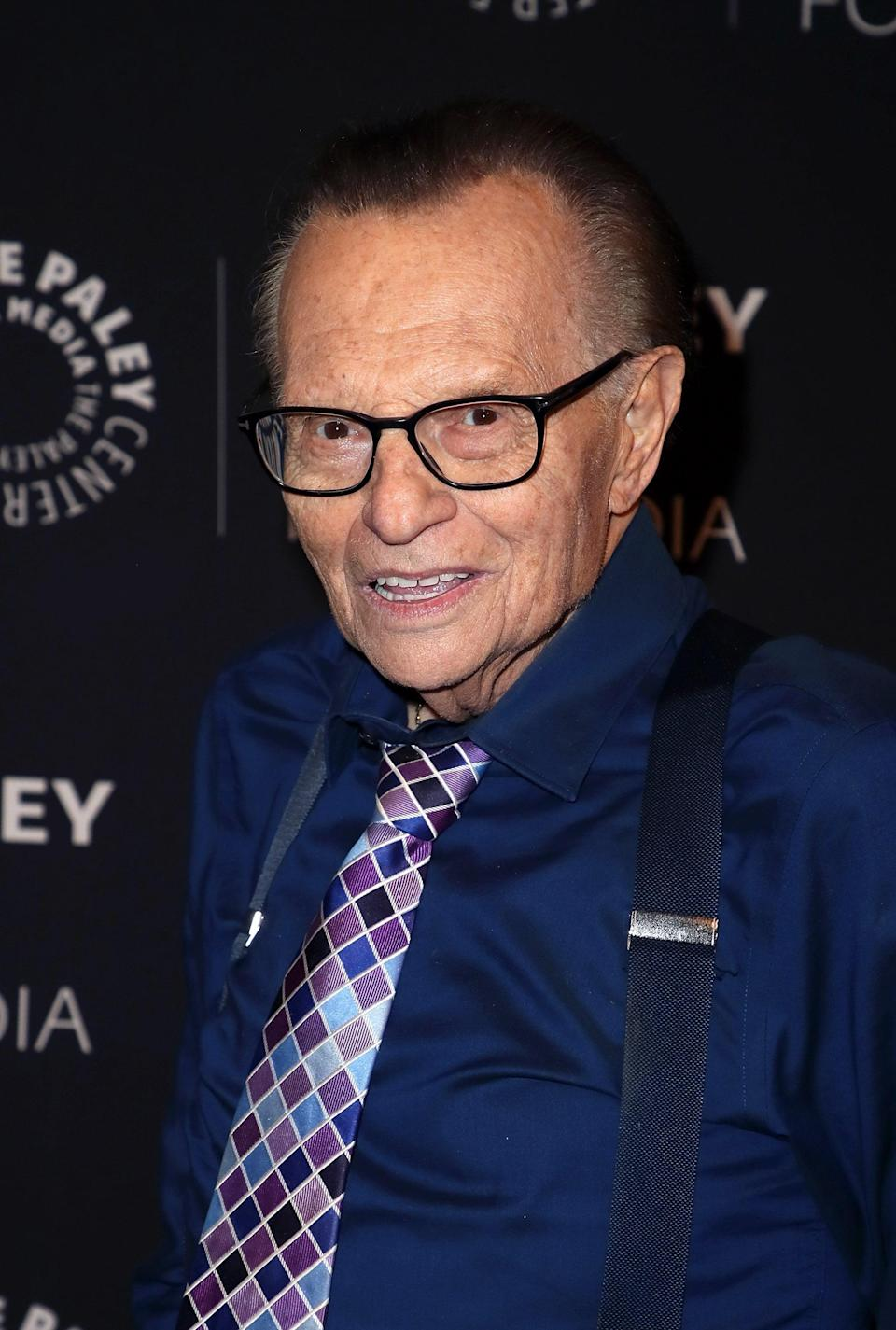 """<p>Longtime TV host and interviewer Larry King died on Jan. 23 at the age of 87. Ora Media <a href=""""https://twitter.com/kingsthings/status/1352960673978880000/photo/2"""" class=""""link rapid-noclick-resp"""" rel=""""nofollow noopener"""" target=""""_blank"""" data-ylk=""""slk:shared the news via his official Twitter account"""">shared the news via his official Twitter account</a>, writing, """"With profound sadness, Ora Media announces the death of our co-founder, host, and friend Larry King, who passed away this morning at age 87 at Cedars-Sinai Medical Center in Los Angeles."""" </p> <p>""""For 63 years and across the platforms of radio, television and digital media, Larry's many thousands of interviews, awards, and global acclaim stand as a testament to his unique and lasting talent as a broadcaster. Additionally, while it was his name appearing in the shows' titles, Larry always viewed his interview subjects as the true stars of his programs, and himself as merely an unbiased conduit between the guest and audience. Whether he was interviewing a U.S. president, foreign leader, celebrity, scandal-ridden personage, or an everyman, Larry liked to ask short, direct, and uncomplicated questions. He believed concise questions usually provided the best answers, and he was not wrong in that belief.""""</p>"""