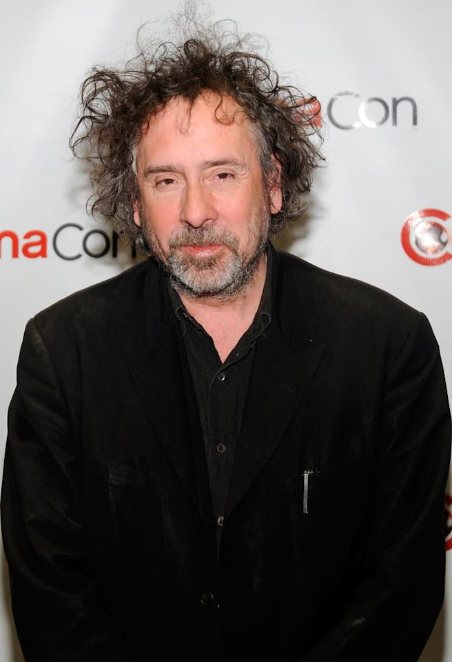 "LAS VEGAS, NV - APRIL 24:  Director Tim Burton arrives at a Walt Disney Studios Motion Pictures presentation to promote his upcoming film, ""Frankenweenie"" at Caesars Palace during CinemaCon, the official convention of the National Association of Theatre Owners, April 24, 2012 in Las Vegas, Nevada.  (Photo by Ethan Miller/Getty Images)"