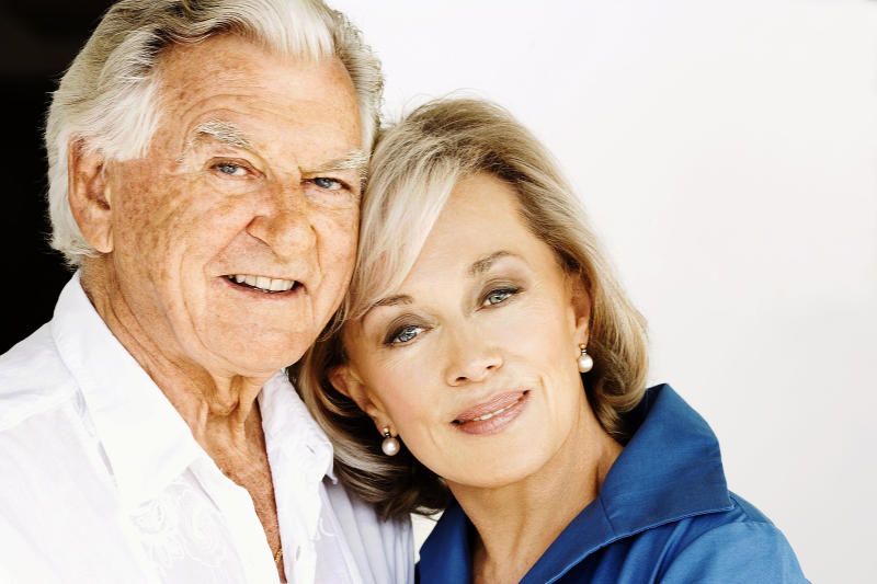 Former Australian prime minister Bob Hawke and his wife Blanche d'Alpuget are pictured. Source: AAP