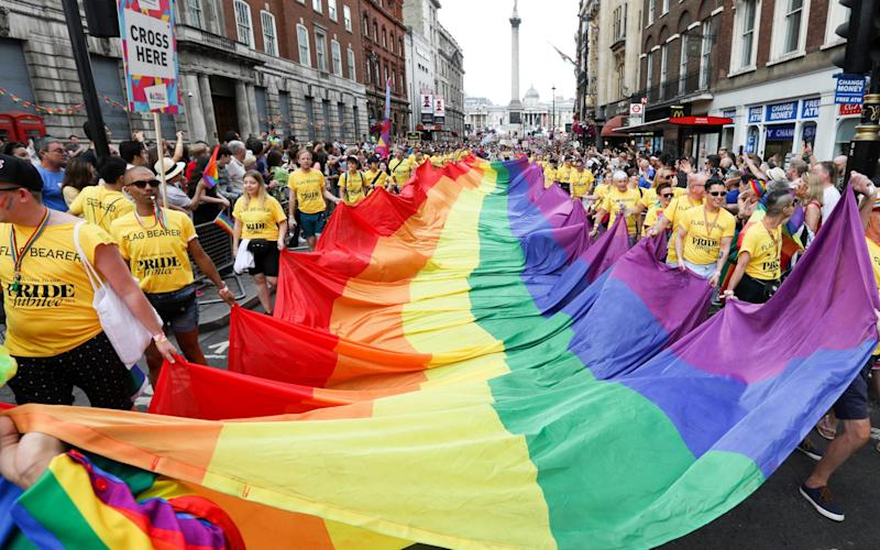 New guidance says schools must 'explain the legal rights LGBT+ people have under UK law, and that this and LGBT+ people must be respected' - Tristan Fewings/Getty Images Europe