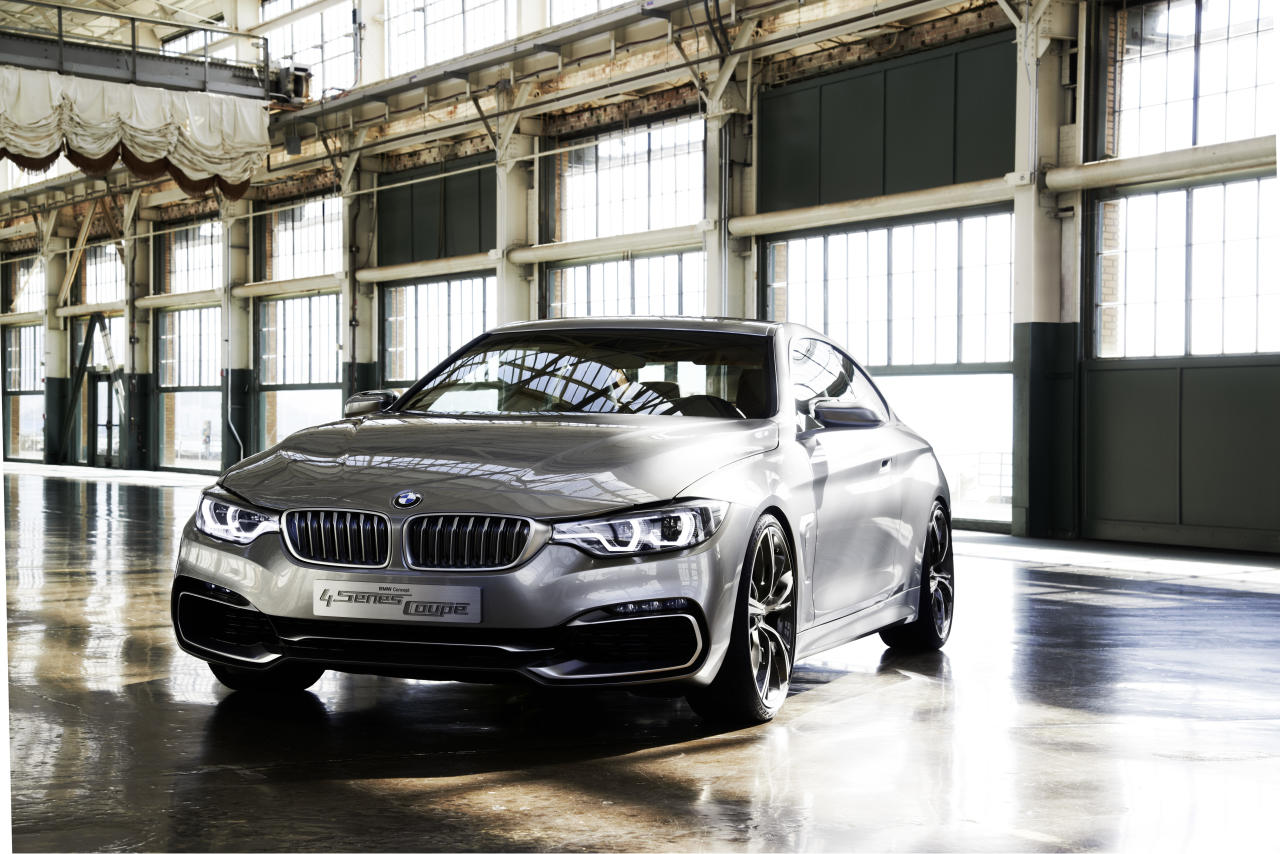 BMW Concept 4 Series Coupe