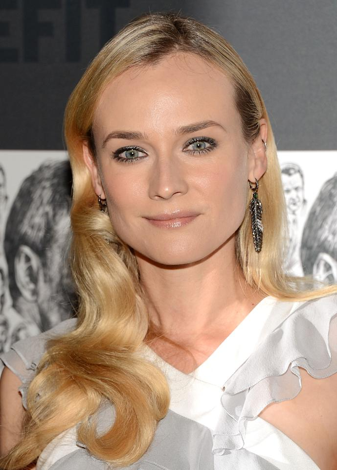 NEW YORK, NY - DECEMBER 03:  Actress Diane Kruger attends The Museum of Modern Art Film Benefit Honoring Quentin Tarantino at MOMA on December 3, 2012 in New York City.  (Photo by Andrew H. Walker/Getty Images)