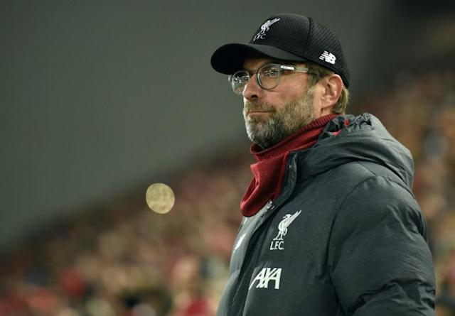 Liverpool manager Jurgen Klopp has warned supporters to behave despite the heightened tension around Manchester City's visit on Sunday (AFP Photo/Oli SCARFF )