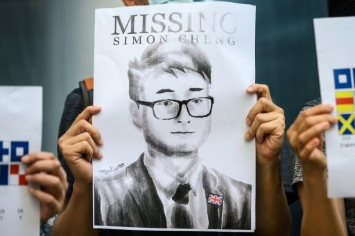 Simon Cheng disappeared after visiting the neighbouring city of Shenzhen on August 8 and was placed in administrative detention by police