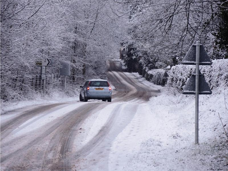 Snow in Appleby, Cumbria, this week: Rex Features