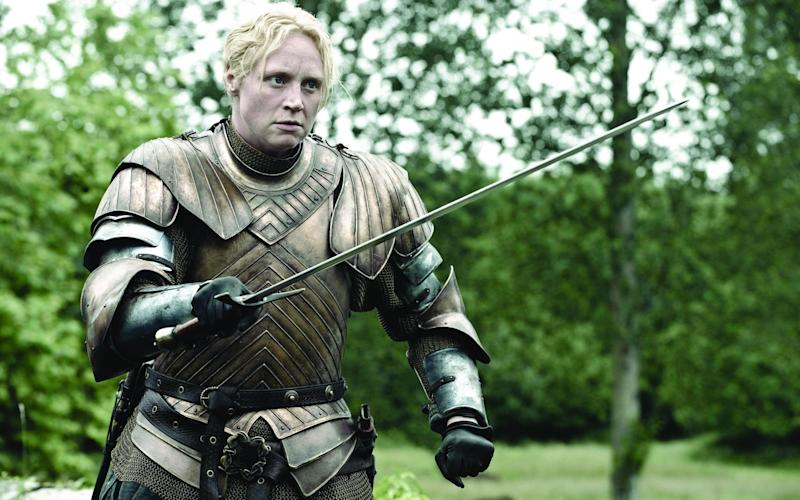 Gwendoline Christie as Brienne of Tarth -  HELENSLOAN