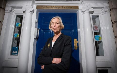 Chief Executive of the Royal College of Midwives Cathy Warwick  - Credit:  John Nguyen/JNVisuals