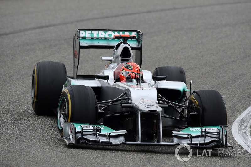 """Mercedes AMG F1 W03 (2012)<span class=""""copyright"""">Sutton Motorsport Images</span>"""