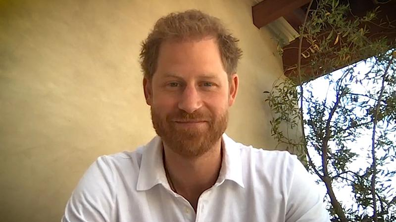 Undated handout photo issued by England Rugby of the Duke of Sussex, in a video thanking rugby clubs up and down the country who have pitched in to help out during the coronavirus pandemic, including delivering food to key workers and the vulnerable and raising money for charity.