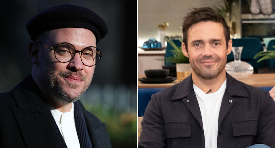 Composite image showing Will Young and Spencer Matthews (Getty)