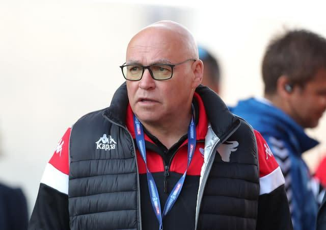 Wales coach John Kear is happy with the World Cup draw (Richard Sellers/PA)