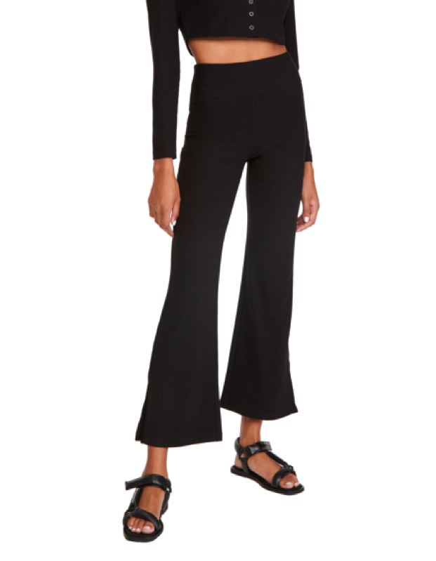 """Thanks to a layered waistband and a statement flare, these lightweight ribbed pants will add some structure to your look without sacrificing comfort—and will look prime paired with platform sandals or kitten heels. $90, Shopbop. <a href=""""https://www.shopbop.com/flight-pant-year-ours/vp/v=1/1566451721.htm"""" rel=""""nofollow noopener"""" target=""""_blank"""" data-ylk=""""slk:Get it now!"""" class=""""link rapid-noclick-resp"""">Get it now!</a>"""