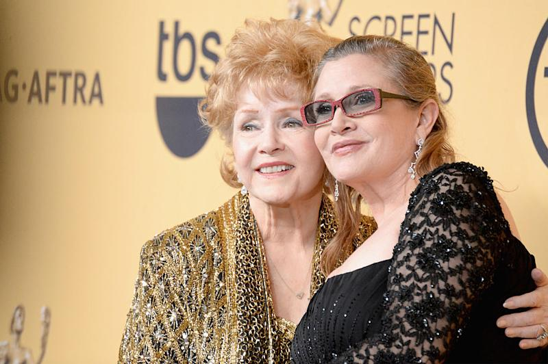 Debbie Reynolds died just one day after her daughter Carrie Fisher [Photo: Getty]
