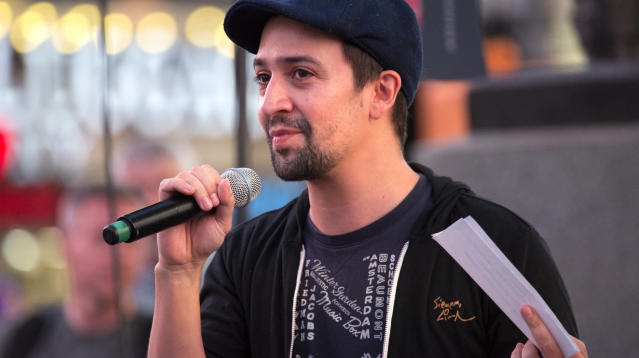 Lin-Manuel Miranda has a simple, yet emotional request: Pay attention to Puerto Rico.