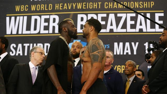 The bad blood between Deontay Wilder and Dominic Breazeale will be settled in the ring, according to the WBC champion.