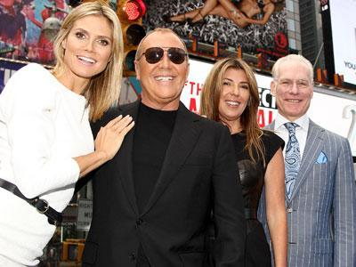 "Heidi Klum, Nina Garcia and Michael Kors have a lot to celebrate. Not only does the 10th season of their Lifetime reality show ""Project Runway"" premiere Thursday, but the series just nabbed four Primetime Emmy nominations. (July 19)"