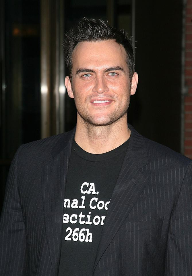 "<a href=""http://movies.yahoo.com/movie/contributor/1809273199"">Cheyenne Jackson</a> at the New York screening of <a href=""http://movies.yahoo.com/movie/1809843292/info"">The Brothers Bloom</a> - 05/07/2009"